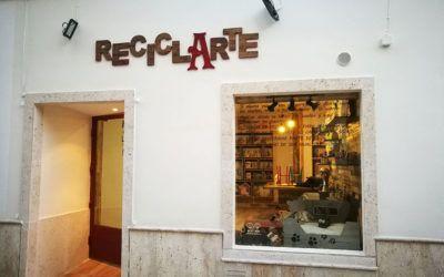 """Inauguración tienda """"ReciclArte"""", de Fundación Cadisla"""