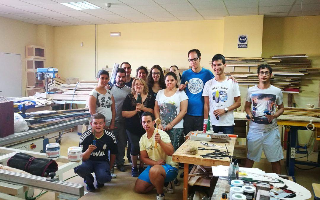"""Finalización Curso """"Trabajos de Carpintería y Mueble"""" en Fundación Cadisla"""