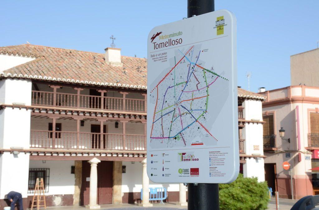 Realización de señales Metrominuto en Fundación Cadisla para Ayuntamiento de Tomelloso.