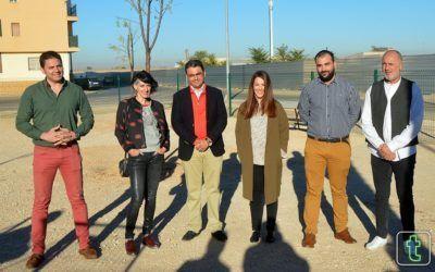 Fundación Cadisla realiza señaletica y el vallado del segundo parque canino de Tomelloso