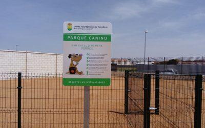 Fundación Cadisla Colabora en la señalización e instalación del parque Virgen de las Viñas de Tomelloso
