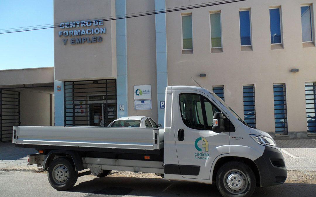 Camión nuevo para la flota de Fundación Cadisla