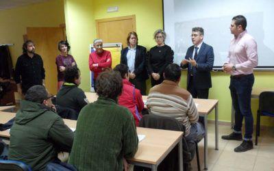 """Visita oficial de la JCCM al Proyecto CREA: """"Alma de Mariposa"""""""