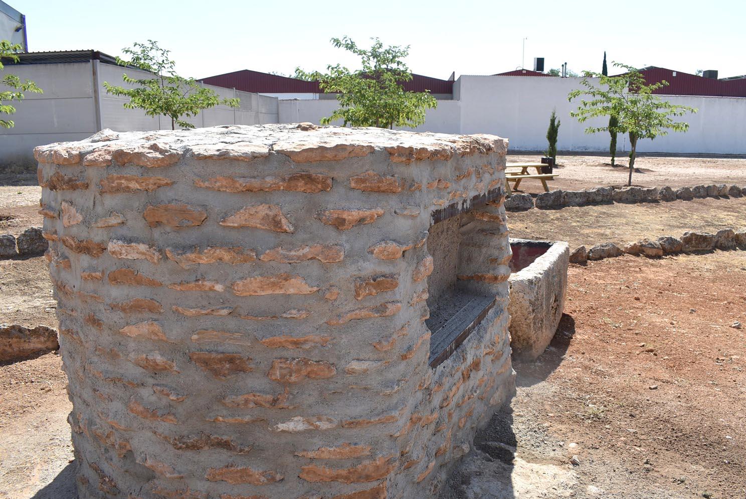Era de Trillar restaurada por Fundación Cadisla - vista de pila