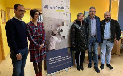 Visita del candidato al senado Jesús Martín a Fundación Cadisla