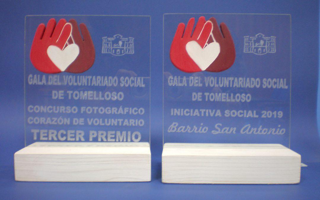 Trofeos para la Gala del Voluntariado de Tomelloso