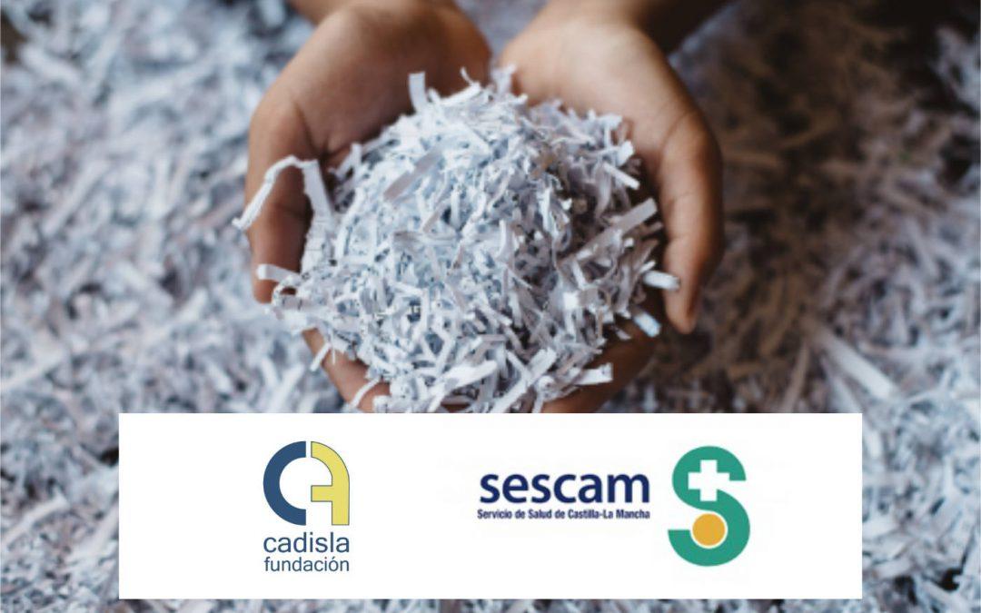Renovamos la prestación de servicio de recogida y destrucción de documentación confidencial en la GAI de Tomelloso