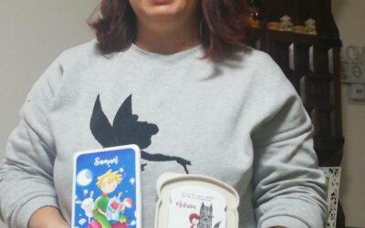 Ganadora del concurso Recicl-Arte