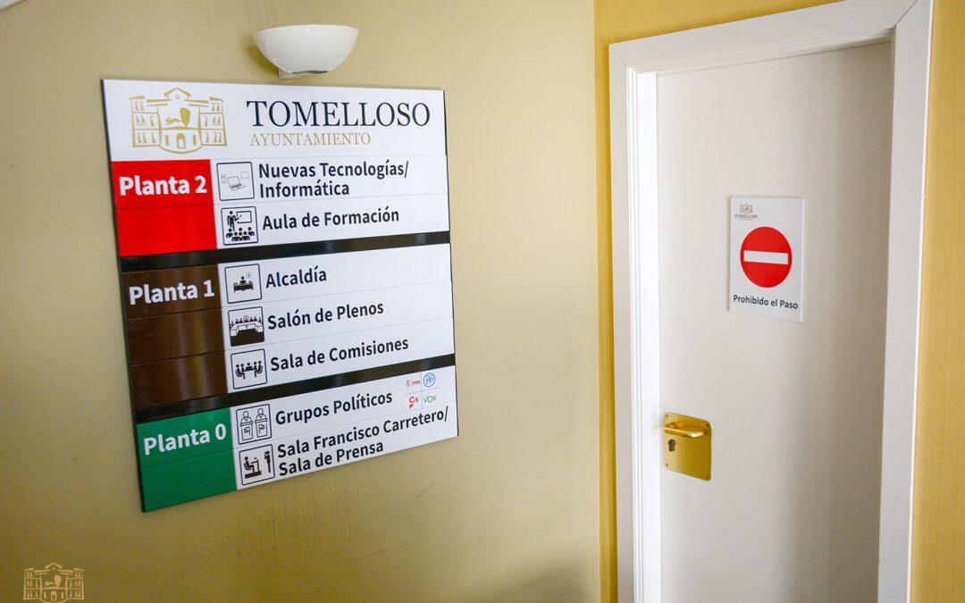 Fundación Cadisla, Afas facilitan la accesibilidad a el Ayuntamiento de Tomelloso para personas con discapacidad.