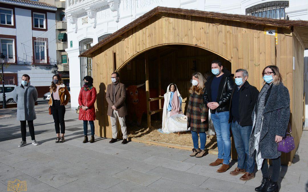 Fundación Cadisla instala otro año más el Belén en la Plaza de Tomelloso