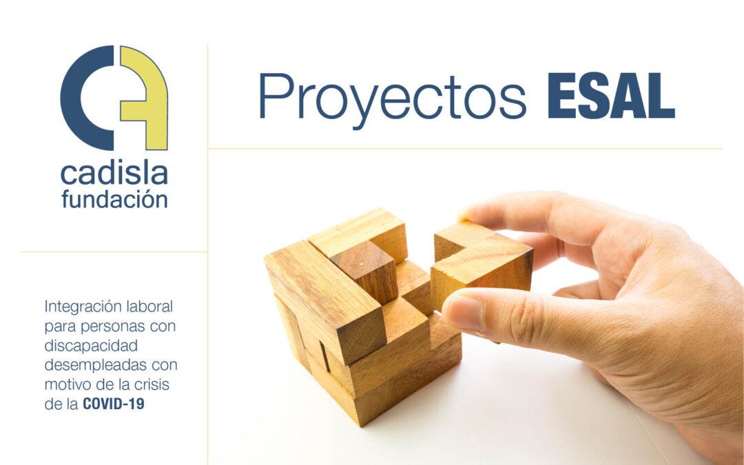 Proyectos ESAL para personas desempleadas con discapacidad