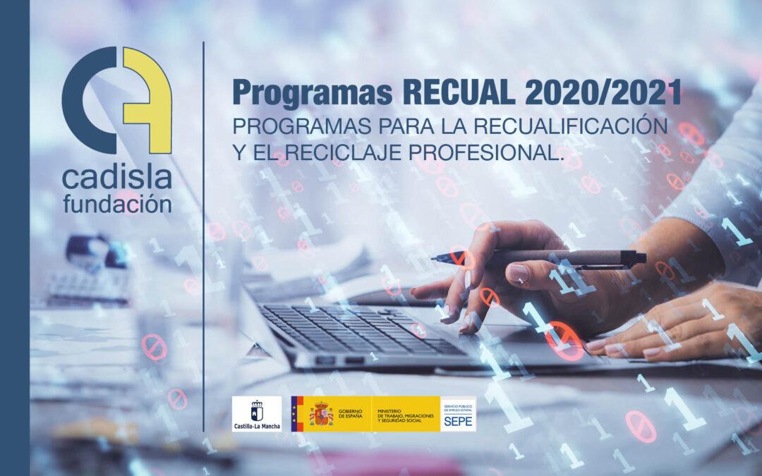 Programas RECUAL 2020/2021